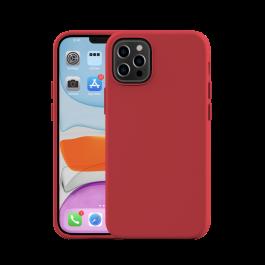 NEXT ONE силиконска маска за iPhone 12 mini - црвена