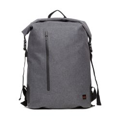 Knomo CROMWELL Water Resistant Roll Top Backpack 14inch - Grey