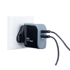ICU - TravelCharge+ Dual Port Travel Charger 3.1A