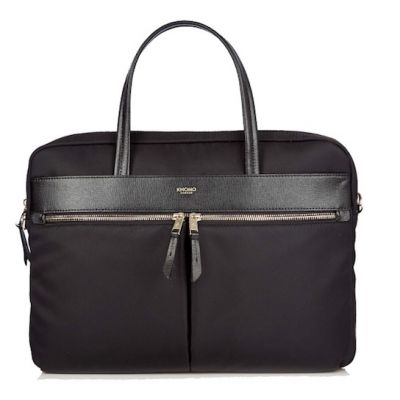 Knomo HANOVER Slim Briefcase 14inch - Black.
