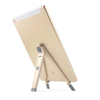 TwelveSouth Compass 2 portable stand for iPad; iPad mini and tablets - gold.