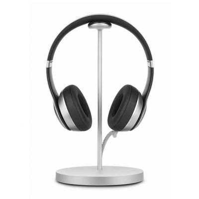 TwelveSouth Fermata Headphone Charging Stand; intl. Version - silver.