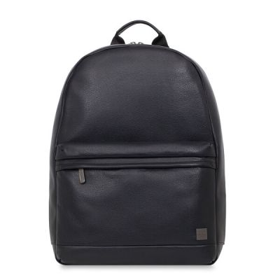 Knomo ALBION Leather Backpack 15.6inch - Black