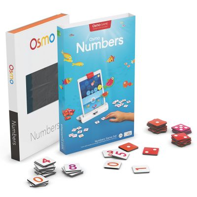 Osmo Numbers Kit ( including 40 tiles with dots and digits, base and reflector are not included)