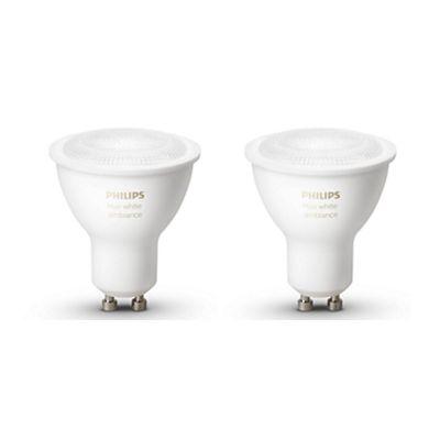 Philips Hue Ambiance 5.5W GU10 EUR 2Pack of bulb