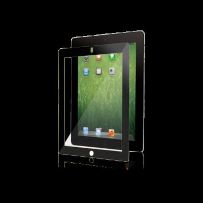 Moshi - iVisor XT - Crystal Clear Screen Protector for iPad2/3/4 - Black [99MO020914]