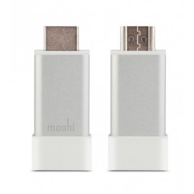 Moshi - HDMI to VGA Adapter with Audio - Silver