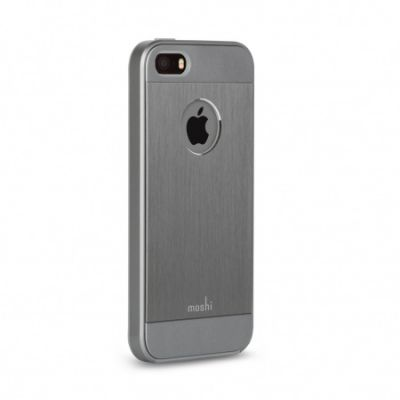 Moshi iGlaze Armour for iPhone SE - Gunmetal Gray