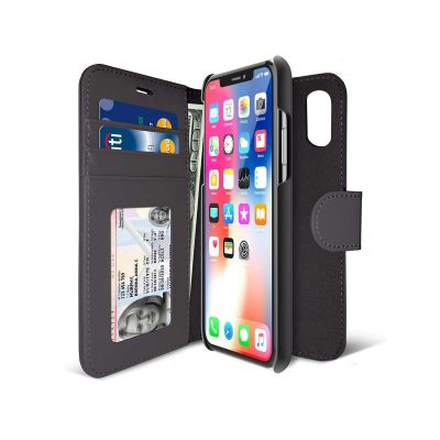 iLuv Diary Case for iPhone X - Black