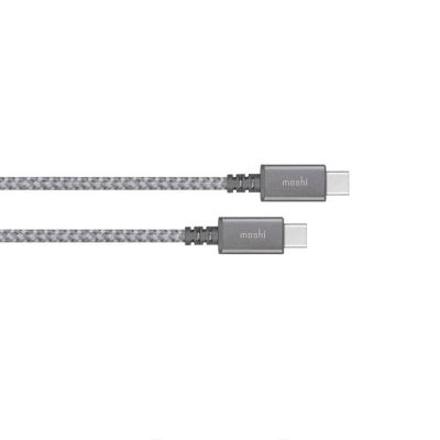 Moshi Integra™ USB-C to USB-C Charge/Sync Cable - Titanium Gray