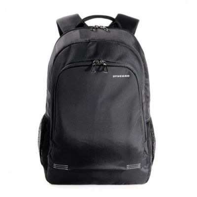 Tucano Forte Backpack in nylon for notebook 15.6inch and MacBook Pro 15inch Retina - Black