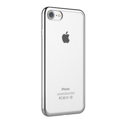 DEVIA Glitter IPH7+ Case Silver