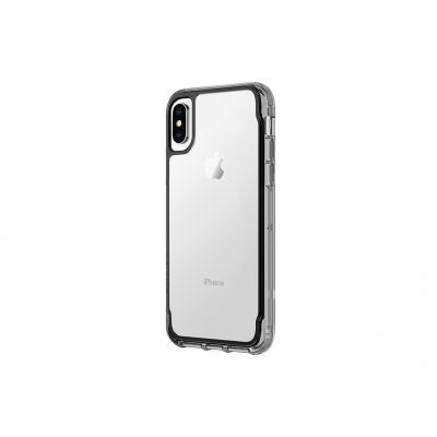 Griffin Survivor Clear for iPhone X - Black/Smoke/Clear