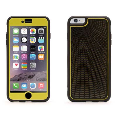Griffin Identity, Performance, Radiant for iPhone 6 - Black/Grey/Yellow [GB40503]