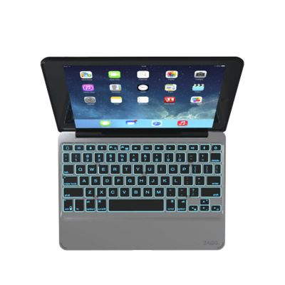 ZAGG Slim Book Case with Keyboard CZ/SK Apple iPad Air 2 - Black