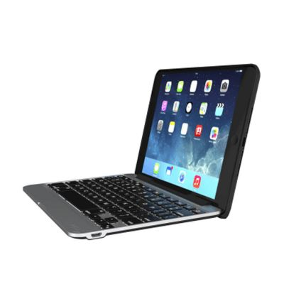 ZAGG Slim Book Case with Keyboard CZ Apple iPad Mini 4 - Black Case - Black