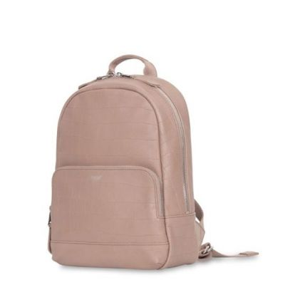 Knomo MINI MOUNT Leather Backpack - 10inch - Nude