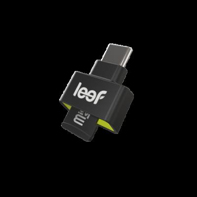 Leef Access-C microSD Card Reader - Black