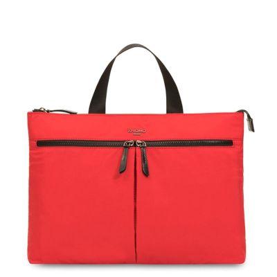 Knomo COPENHAGEN Ultra Lightweight Briefcase 14inch - Poppy Red