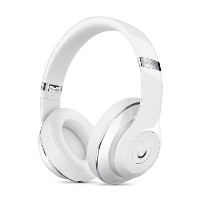 Beats Studio2 Wireless Over-Ear Headphones - Gloss White