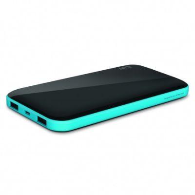 iLuv 10000 mAh Slim Portable Power Bank - Black