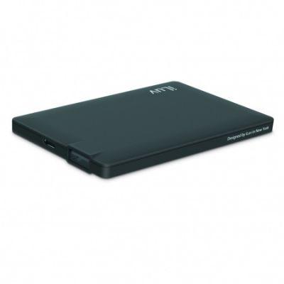 iLuv 2500 mAh Slim portable Power Bank - Black