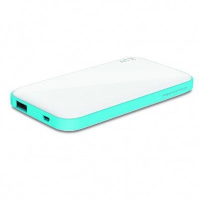 iLuv 5000 mAh Slim Portable Power Bank - White