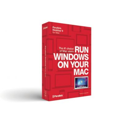 Parallels (EOL) Desktop 8 for Mac Retail Box Corp English
