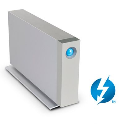 Lacie 10TB d2 Thunderbolt 3 & USB 3.1 Type C [7200] (Enterprise HDD)