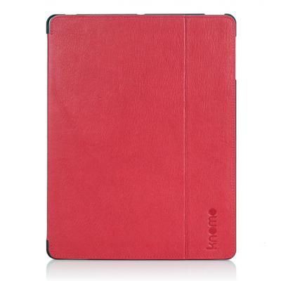 (EOL - stock clearing Mar13) Knomo iPad 3/4 Folio - Teaberry