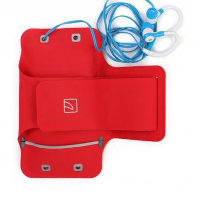 Tucano Ultra slim armband for smartphone 4.7inch - Red [SARM47-RC]