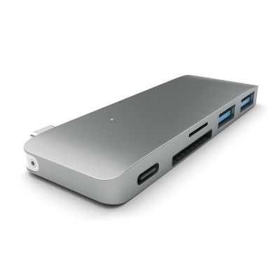 SATECHI Type-C PASS USB HUB Space Gray