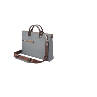 Moshi Urbana slim laptop briefcase - Mineral Gray